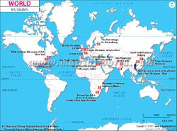 World travel maps famous museums in the world gumiabroncs Image collections