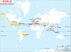World travel maps best shopping destinations in the world landmarks gumiabroncs Images