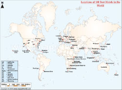 World travel maps top 100 hotels in the world gumiabroncs Gallery