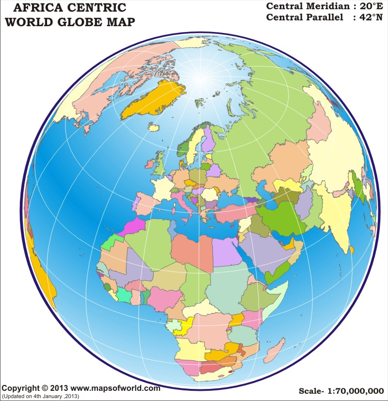 World globe map africa centric gumiabroncs Choice Image