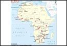 Africa Minerals Map