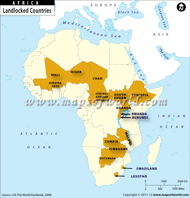 Landlocked Countries of Africa