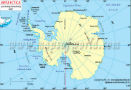 Antarctica Latitude and Longitude Map