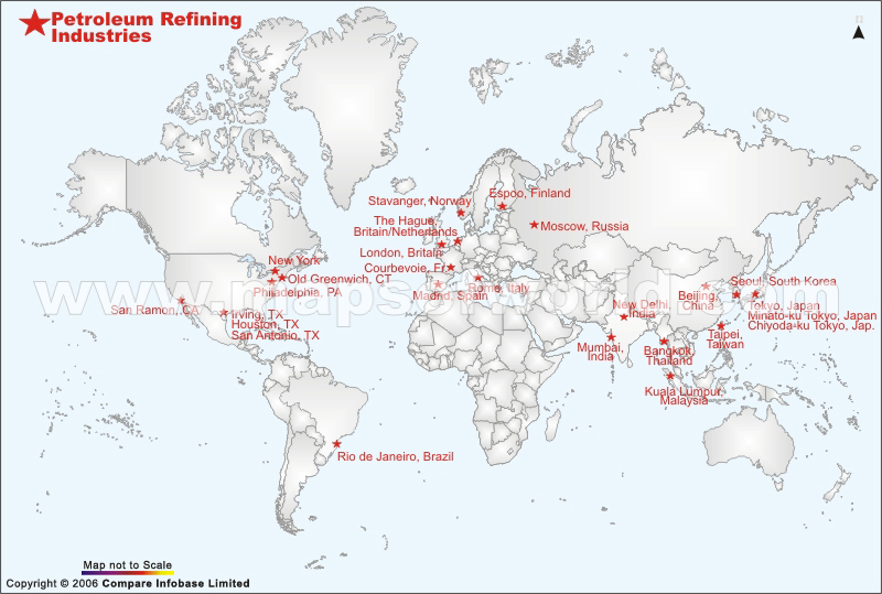 Petroleum Refining Industries Worldwide