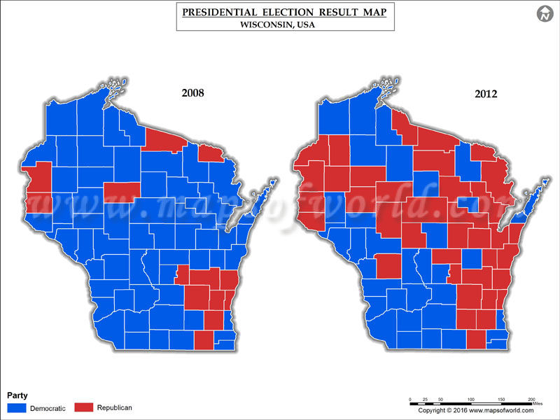 Election map counties us