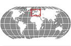 Europe Globe Locator