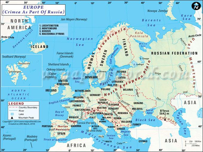 Europe Map | Map of Europe EUROPE MAP