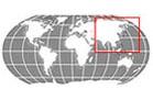 Asia Globe Locator