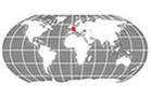 Netherlands Globe Locator
