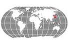 Japan Globe Locator