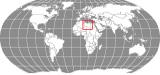 Libya Globe Locator