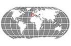 Spain Globe Locator