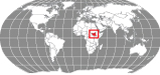 Locator of South Sudan