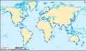 World Sea Ports Map