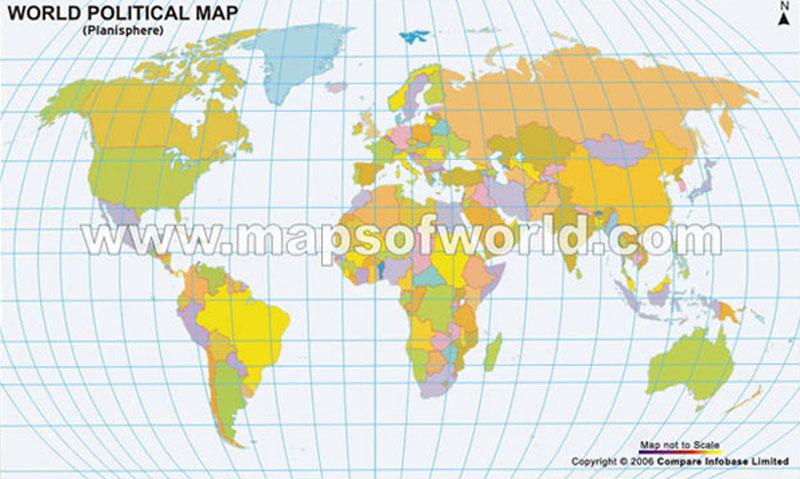World Map Big