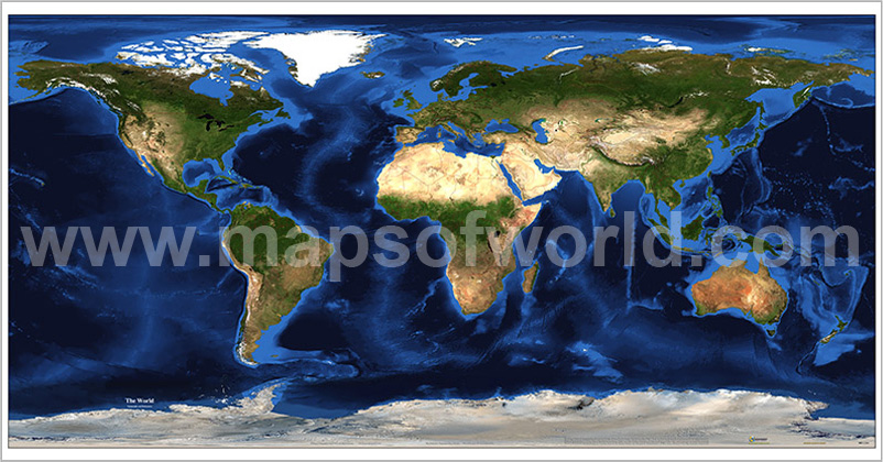 Earth Map World GEO Map – Map the Earth