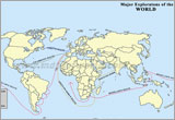 Major Explorations of the World
