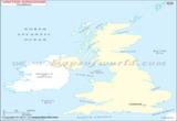 Blank Map of UK