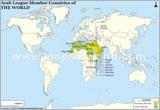 World Arab League Countries