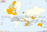 World Commonwealth Map