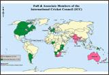 World Cricket Map