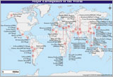 Major Earthquakes of the World