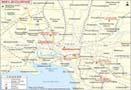 Melbourne City Map