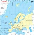 Europe Lat Long