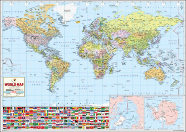 World's Best World Map