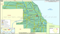 Cook County Map, IL