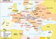 WW2 Map of Europe