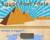 Infographic of Egypt Facts