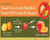 genetically modified food should be banned Genetically modified organisms (gmos), also known as genetically engineered  or  minimizing food loss is a must, while having a sustainable food  a few  countries such as japan and europe banned or strictly limited the.