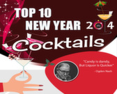 Infographic on New Year's Eve Cocktails