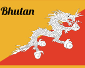 Infographic of Bhutan Fast Facts