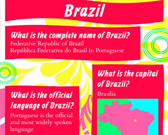 Infographic of Brazil Fast Facts