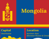 Infographic of Mongolia Fast Facts
