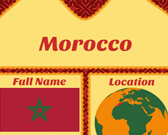 Infographic of Morocco Fast Facts