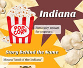 Infographic Indiana Fast Facts