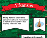 Infographic Of Arkansas Fast Facts