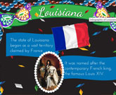 Infographic Of Louisiana Fast Facts