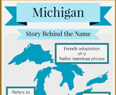 Infographic Of Michigan Fast Facts