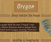Infographic Of Oregon Fast Facts