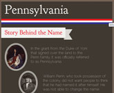 Infographic Of Pennsylvania Fast Facts