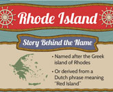 Infographic Of Rhode Island Fast Facts
