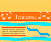 Infographic Of Tennessee Fast Facts