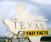 Infographic Of Texas Fast Facts