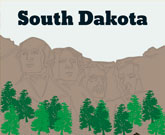 Infographic South Dakota Fast Facts