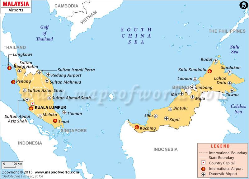 Airports in Malaysia