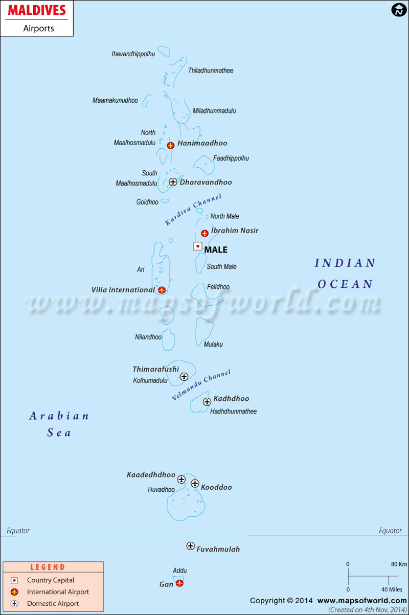 Airliners India View Topic Maldives 11 New Airports To
